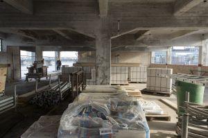 Werfthalle im März 2013