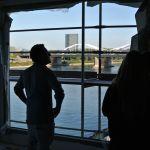 Werfthalle Ludwigshafen Anfang September 2013: Stattlicher Ausblick